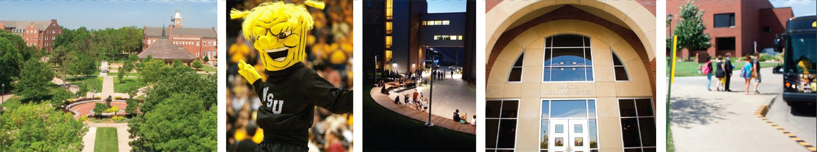 Connect with Wichita State montage