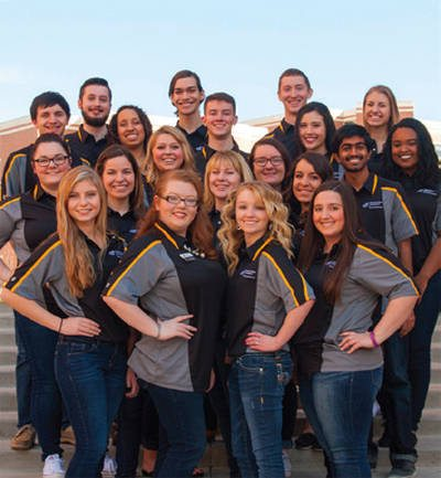 Group of WSU students