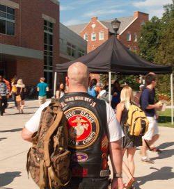 Military appreciation at WSU