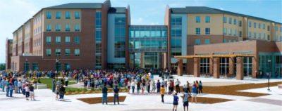 Residence hall at Wichita State University