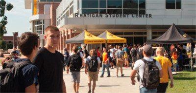 Rhatigan Student Center at Wichita State
