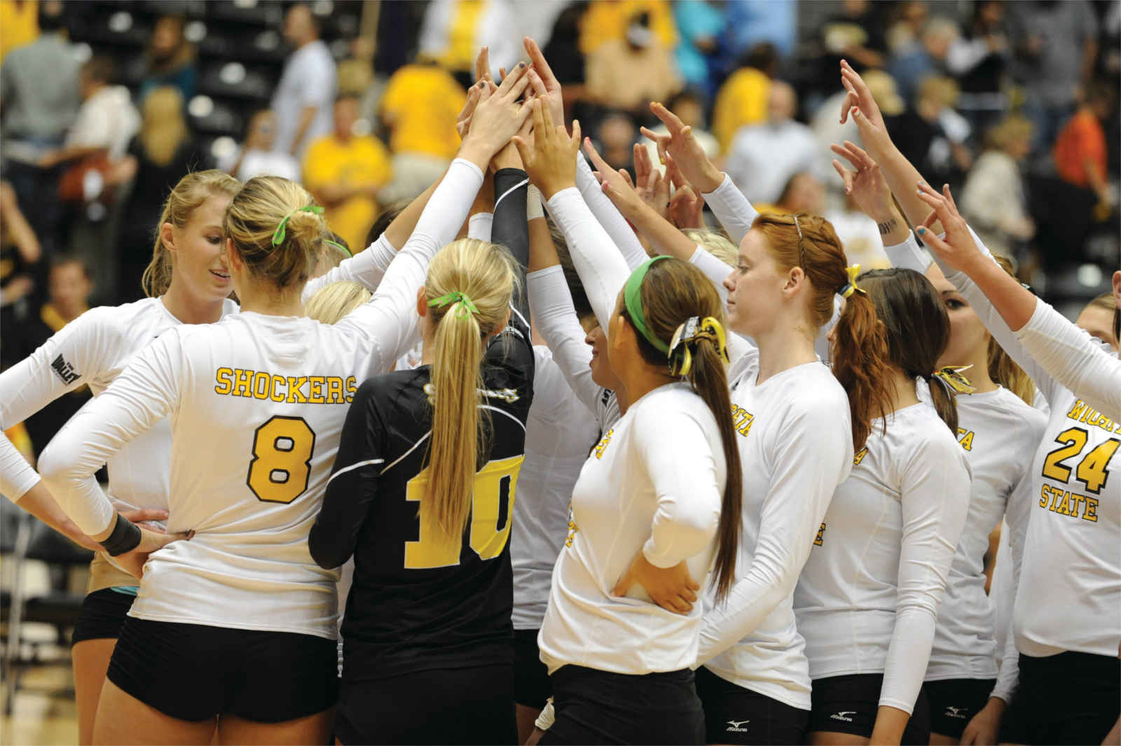 Shocker women's volleyball