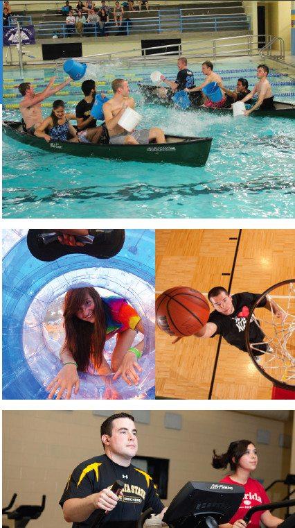 Wichita State University recreation montage