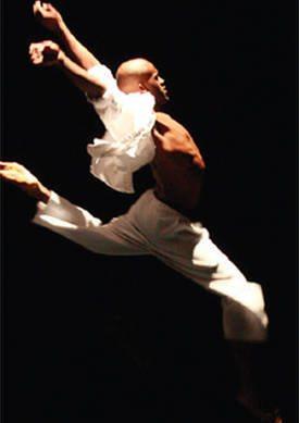 WSU ballet dancer