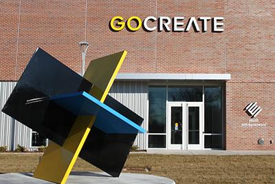 Go Create building