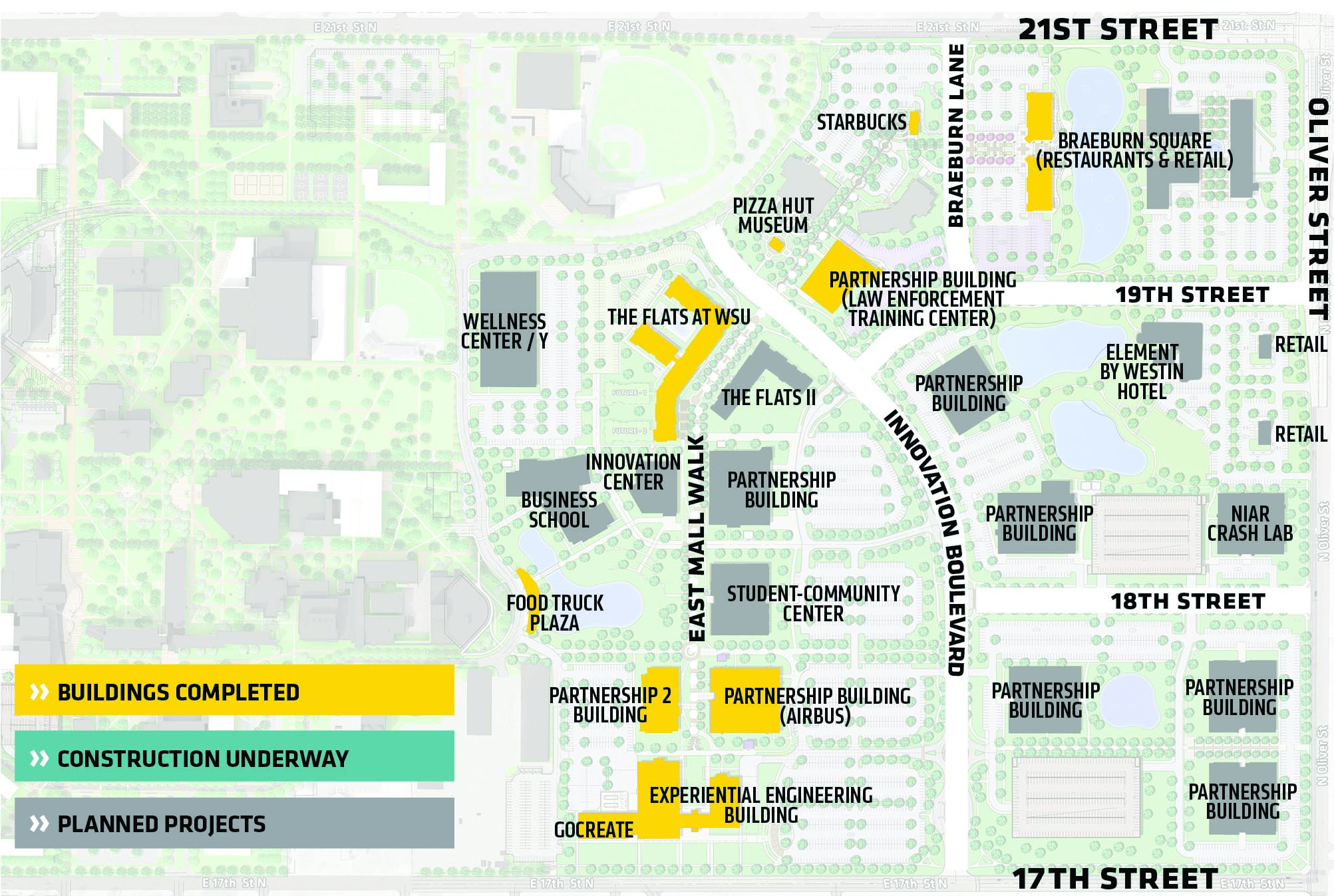 Innovation Campus Map