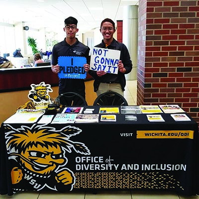 Office of Diversity and Inclusion tabling